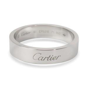 b9738eda819ef Cartier C De Cartier Wedding Band In Platinum 6mm | Cartier | Buy at ...