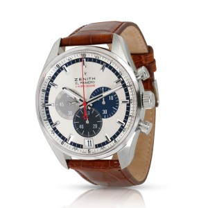 Zenith El Primero 03.2041.4052 Men's Watch in  Stainless Steel