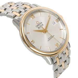 Omega De Ville Prestige 424.20.37.20.02.001 Men's Watch in 18kt Stainless Steel/