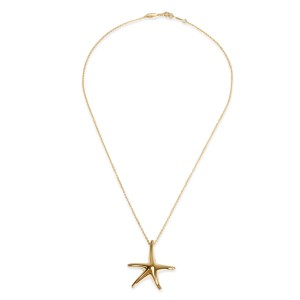 49aa9b59a Elsa Peretti Starfish Necklace In 18K Yellow Gold | Tiffany & Co. | Buy at  TrueFacet