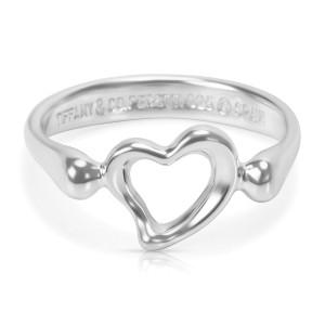 debc661da Elsa Peretti Open Heart Ring In Sterling Silver   Tiffany & Co.   Buy at  TrueFacet