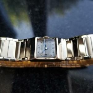 CARTIER Rare 14K Solid Gold J. Schulz Ladies Cocktail Dress Watch, c.1920s MA104