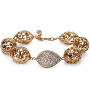 Pave Diamond Fashion Bracelet in 18k Pink Gold (7.30 CTW)
