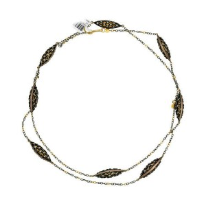 BRAND NEW Gurhan Diamond Necklace in 24KT & 14KT Yellow Gold MSRP 16100