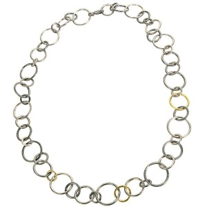 Gurhan Hoop Necklace in Sterling Silver