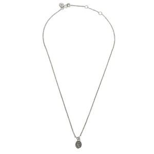 Di Modolo Lolita Cognac Diamond Necklace in Plated Black Rhdoium