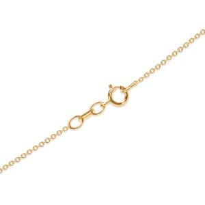 Rose Quartz Heart Pendant in Yellow Gold & Platinum with Diamond (0.29 CTW)