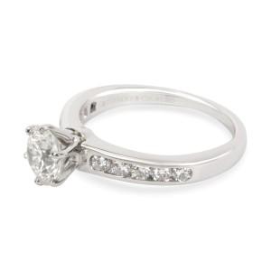 Tiffany & Co. Channel Set Diamond Engagement Ring in  Platinum I VS1 1.38 CTW