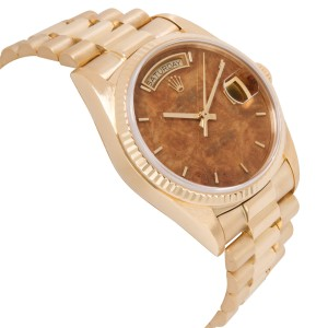 Rolex Day-Date 18038 Men's Watch in 18kt Yellow Gold