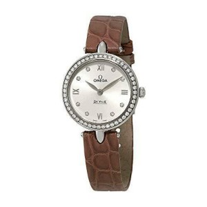 Omega De Ville Prestige Diamond Ladies Watch 424.18.27.60.52.001