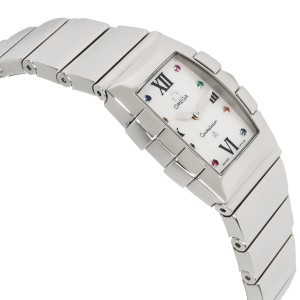 Omega Quadrella 1584.79.00 Ladies Watch in Stainless Steel