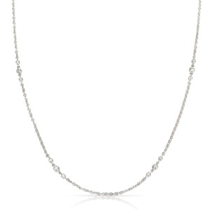 Tiffany & Co. 8 Station Diamond Necklace in  Platinum 0.56 CTW