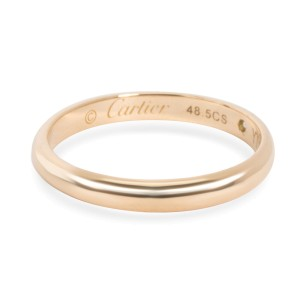 Cartier 1895 Diamond Wedding Band in 18K Yellow Gold 0.01 CTW
