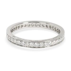 Cartier Diamond Eternity Band in  Platinum Size 52 (0.58 CTW)