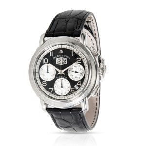 Maurice Lacroix Masterpiece Flyback MP6098-SS001-39E Men's Watch in  Stainless S