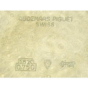 Men's Audemars Piguet 18k Solid Gold Geneve Dress Watch, c.1970s Swiss Lux NS40