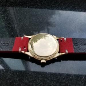 Men's Longines 14k Gold Cal.23 Manual-Wind Dress Watch, c.1960s Swiss LV818RED