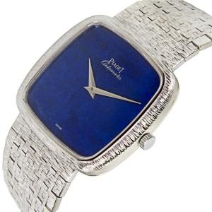 Piaget Dress 12773 A6 Vintage Unisex Watch in 18K White Gold