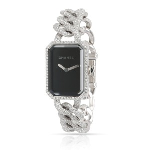 Chanel Premiere H3260 Women's Diamond Watch in 18kt White Gold