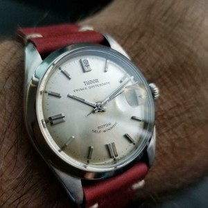 Men's Tudor 7996/0 Prince Oysterdate Automatic, c.1960s Swiss Vintage LV777RED