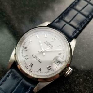 Men's Tudor Midsize Prince Date ref.72000 Automatic, c.2000s Swiss Lux MS134BLU