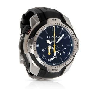 Graham Chronofightere Prodive 2CDAV.B02A Men's Watch in  Stainless Steel
