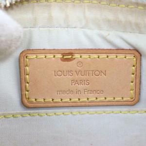 Louis Vuitton Juliette Blue Mm 870679 Grey Monogram Mini Lin Canvas Shoulder Bag