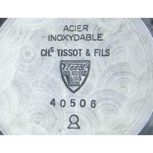 Men's Tissot 40506 Seastar T.12 Hand-Wind Chronograph, c.1970s Vintage MX90BLK