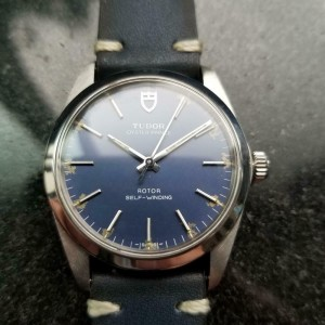 Men's Tudor Oyster Prince Ref.90220 34mm Automatic Blue Dial, c.1980s LV931BLU