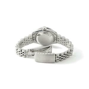 Rolex Datejust 26mm Steel Jubilee Diamond Watch w/ White Pearl Dial