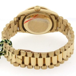 Rolex President Midsize 18K Yellow Gold Factory Diamond Dial 31MM Watch