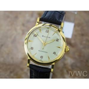 Bulova L6 Luxury Dress 1960s Gold Plated Unisex Selfwinding 31mm Swiss watch L70