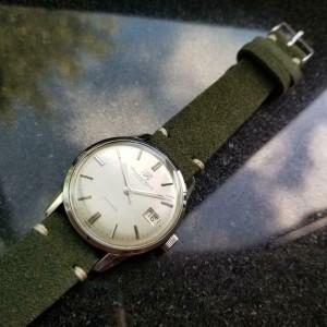 Men's IWC Schaffhausen Ref.810 35mm Date Automatic, c.1970s Vintage Watch LV880