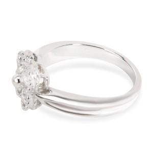 Van Cleef & Arpels Vintage Alhambra Diamond Ring in 18K White Gold (0.40 CTW)