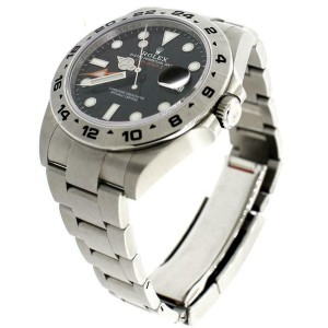 Rolex Explorer II 42MM Black Dial Mens Oyster Watch 216570 Box Papers