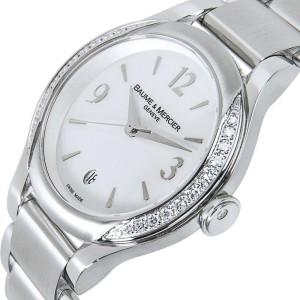 Baume & Mercier Ilea MOA08771 Ladies Watch in Stainless Steel
