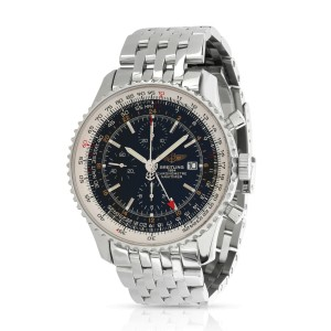 Breitling Navitimer World A24322 Men's Watch in  Stainless Steel