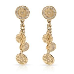 Chanel Comete Diamond Earrings in 18K Yellow Gold 1.00 CTW