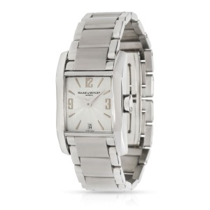 Baume & Mercier Diamant 65488 Women's Watch in  Stainless Steel