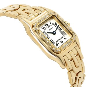 Cartier Panther 1280 2 Women's Watch in 18kt Yellow Gold