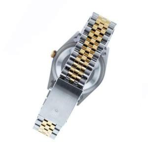Rolex Datejust 36mm 2-Tone WATCH/3.10ct Diamond Bezel/Matt Coral Roman Dial
