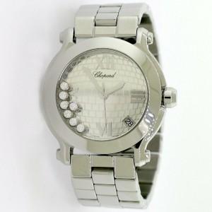 Chopard Happy Sport 35MM Brick Pattern Dial Limited Edition Watch 8475