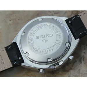 Mens Seiko Speedtimer 7015-7000 39mm Automatic Chronograph, c.1970s GG40
