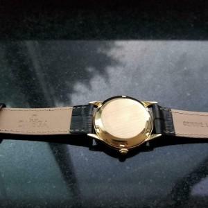 Mens Omega Ref.2736 33mm 18k Gold Bumper Automatic, c.1940s Vintage LV635