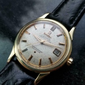 Mens Omega Constellation Calendar 34mm Gold-Capped Automatic, c.1950s  LV651
