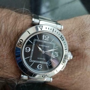 Mens Cartier Pasha Seatimer 2790 40mm Automatic w/Date, c.2000s Swiss LV720