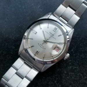 Mens Tudor Prince Oysterdate 7996 34mm Date Automatic, c.1960s Swiss LV777