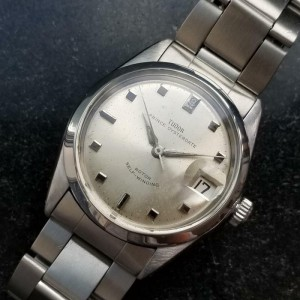 Mens Tudor Prince Oysterdate 7996 34mm Date Automatic, c.1960s Swiss LV778