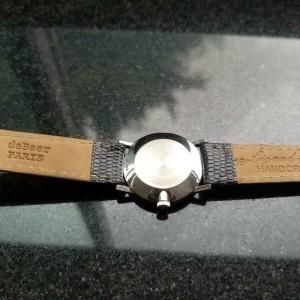Ladies Omega 27mm 14k White Gold Diamond Dress Watch, c.1970s Swiss LV451BLK