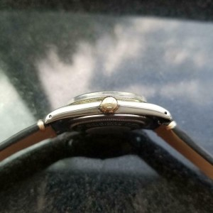 Mens Tudor Prince Oysterdate 7990 34mm 14k & ss Automatic, c.1960s LV830BLU